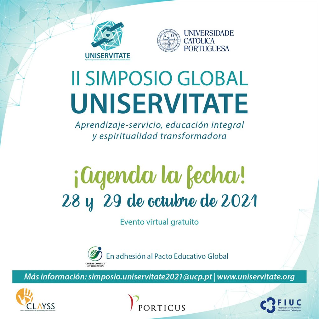 Image. Save the Date. II Global Symposium UNISERVITATE